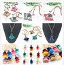 1 Pcs Necklace Tassel Beaded Chain Pendant Sweater Long Bohemian Jewelry Gifts