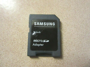"""Adaptateur carte Micro SD > SD - """"Samsung"""""""