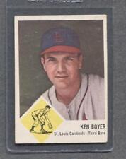 1963 Fleer #60 Ken Boyer (Cardinals)  Vg-Ex  (Flat Rate Ship)