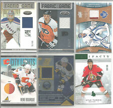 2010-11 Pinnacle City Lights Rene Bourque Prime Patch #18/25 Calgary Flames