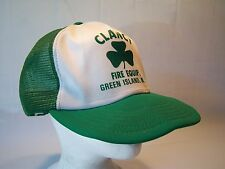 Vintage 80's Clancy Fire Equip. Trucker Hat Men's One Size Fits All