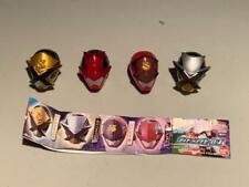BANDAI Kaitou Sentai Lupinranger VS Keisatsu Patoranger Helmet SET of 4