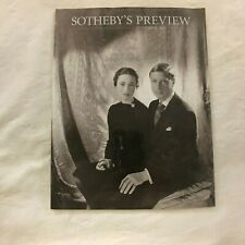SOTHEBY'S PREVIEW - September 1997 Paperback