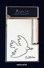 S.T. Dupont Ligne 2 Picasso Lighter With Peace Dove, ST016268 (16268) New In Box