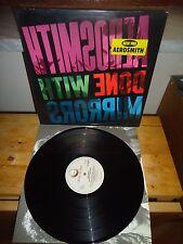 "Aerosmith ""Done With Mirrors"" LP GEFFEN EUROPE 1985 - INNER"