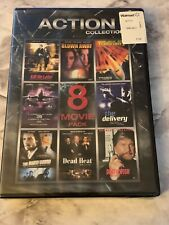 Action Collection 8 Movie Pack (DVD, 2-Disc Set) VG Lionsgate Pack New Sealed