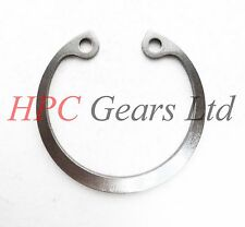 2 x Stainless Steel 40mm Internal Circlips DIN472 Circlip HPC Gears