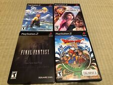 ^^^^ Final Fantasy X X-2 XII 12 Collector's Edition Dragon Quest VIII 8 Ps2