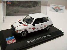 Talbot Samba Rallye, blanco, 1983, Ixo 1:43, embalaje original
