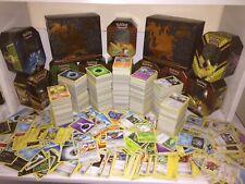 Lotto 100 Carte Pokémon in ITALIANO + rare + holo + reverse + Sleeves + 1 pack