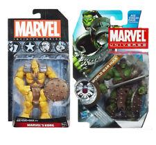 """Marvel Universe WORLD WAR HULK & KORG 3.75"""" figures RARE, avengers, ragnarok"""
