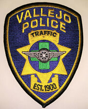 Vallejo California Police Traffic Patch // FREE US SHIPPING!