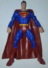 "DC SuperHeroes S3 Select Sculpt CLASSIC SUPERMAN 6"" Figure Universe Mattel"