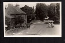 Misterton - Street Scene, between Bawtry & Gainsborough - real photographic p/c.