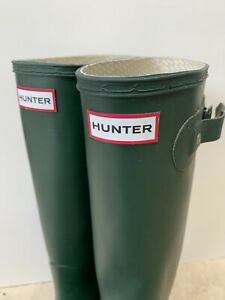 Almost New Hunter boots 40