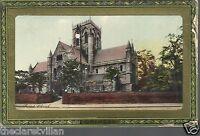 Grimsby Parish Church  St. James 1913 Postcard