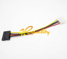 10PCS 4Pin ide molex male 15Pin serial ata sata disque dur adaptateur câble d'alimentation