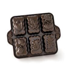 New listing Nordic Ware Harvest Mini Loaf Pan, Bronze