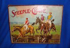 Vintage Spear's Games Original Steeple Chase Game Complete