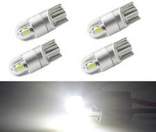 4x T10 501 2 SMD 3030 LED Innen 12V Weiß Lampe Licht Beleuchtung Deutsche Post