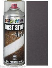 Dupli-Color Rust Stop Anthrazit eisenglimmer 400ml 4in1 Rostschutzlack Spray