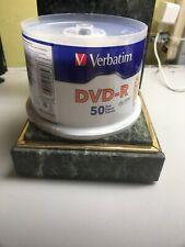 VERBATIM  DVD-R 50 PACK, SEALED recordable dvd (ff)
