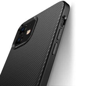 Coque Silicone Antichoc Noir iPhone 12 Mini 12 Pro Max 6/7/8/XS/XR/11 SE 2020