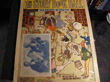 ANTIQUE SHEET MUSIC THE STORY BOOK BALL 1917 CHILDREN'S SONGS