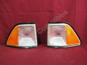 NOS OEM Acclaim, Le Baron 4-Door Sedan Side Marker Light 1990 - 91 PAIR