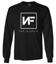 Mens NF The Search Album Logo Long Sleeves T-Shirt