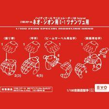 EVO Gundam ZEON SPECIAL MODELING HAND G Resin Conversion Original Kit FOR MG