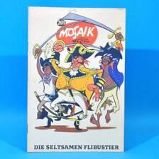 Mosaïque 201 Digedags Hannes émettons originalheft   RDA   Collection Original MZ 9