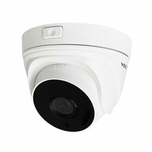 Vectus 5MP 40M EXIR PoC Power over Coax Dome Turret CCTV Camera, 2.8mm Lens