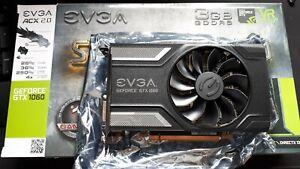 EVGA Nvidia GeForce GTX 1060 SuperClocked 3GB Boxed Used Working