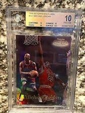 1998-99 Topps Gold Label Michael Jordan BGS 10 Pristine#GL1 .5 from Black Label