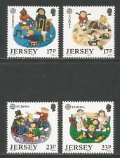 Jersey 1989 Europa/Children's Games-Attractive Topical (511-14) Mnh