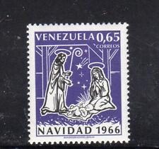 VENEZUELA #911  1966  CHRISTMAS  MINT VF NH O.G