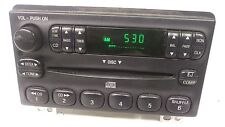 Ford single CD AMFM RADIO OEM Explorer Mountaineer Mustang Expedition 02-05 4L2T
