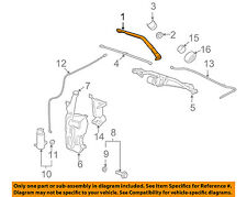 GM OEM-Window Windshield Wiper Arm 22917497