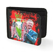 alex ferguson wallet credit card fergie art man united football legend red   1fb84433e65