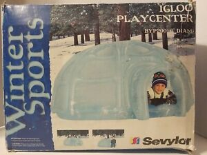 Sevylor Winter Sports Igloo Play Center Inflatable 6' Diameter BYP200 *NEW*