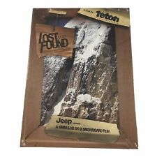 Teton Gravity Research Lost And Found Skiing DVD Movie Film