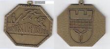 Bundesjugendspiele Ort? (Wappen?) AE-Plakette ca. 32,55 g ca. 42 x 49 mm