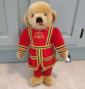 """Merrythought Teddy Bear (Size 17"""") Royal Beefeater British England Plush w TAGS"""