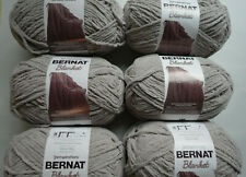 Spinrite Bernat Blanket Big Ball Yarn Pale Grey 319328