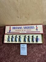 W Britains Soldiers Grenadier Guards Winter Overcoats #312 Pre-Owned