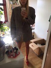 Vintage Oversized Harris Tweed Mens Blazer Jacket Seen On Size 12 / 14