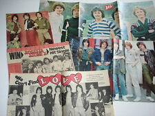ROSETTA STONE teen magazine pinups LOT of 5 rare