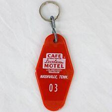 "Vintage Loveless Motel Cafe Nashville Tennessee Room Key Fob Tag Red 3 3/8"""