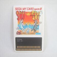 SPY VS SPY MAD Sega My Card Mark III Import Japan Video Game Card 0814 m3c